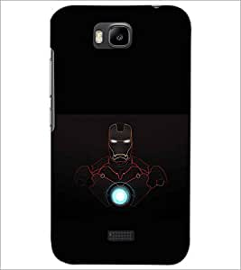 HUAWEI HONOR BEE SUPERHERO Designer Back Cover Case By PRINTSWAG