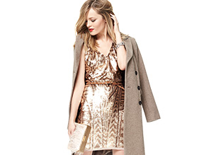 The Holiday Dress: Glamorous Golds!