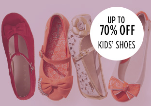 Up to 70% Off: Kids' Shoes