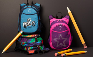 Back to School: O3 backpacks!