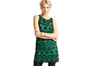 The Holiday Dress: Elegant Emeralds!