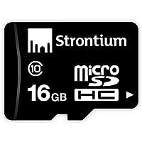 Strontium 16GB MicroSD Memory Card (Class 10)