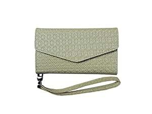 ATV Premium Quality PU Leather Cream Pouch Case Flip Cover With Detachable Strap For Samsung Galaxy J7 Prime