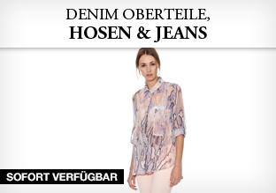 Denim Oberteile, Hosen & Jeans