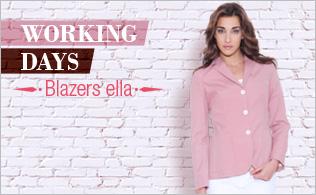 Working days: Blazer Ella!