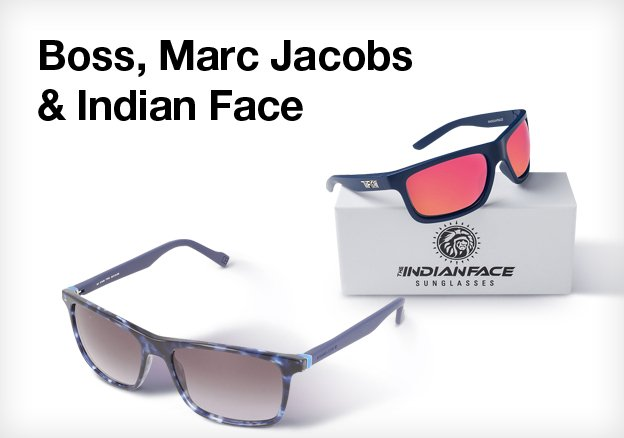 Boss, Marc Jacobs & Indian Face Suglasses