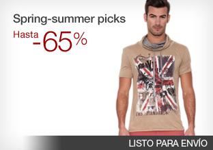 Spring-summer picks: hasta -65%!