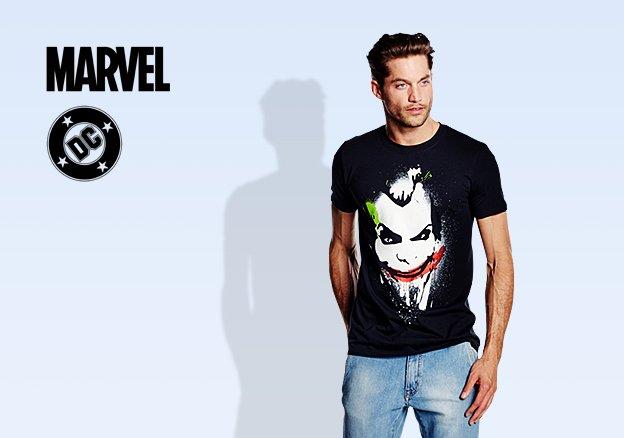 DC Comics & Marvel!