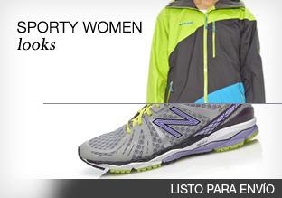 Sporty women looks