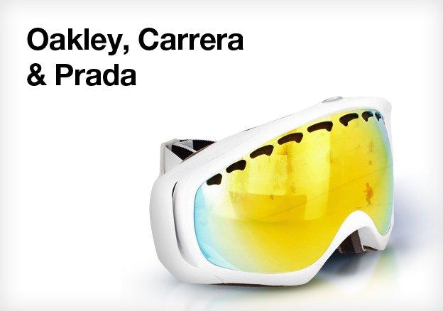 Oakley, Carrera & Prada