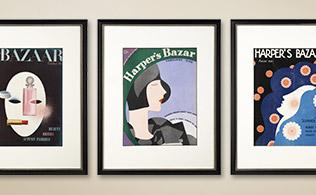 Original Turn-of-the-Century Harper's Bazaar Covers