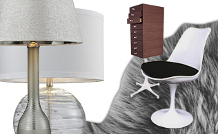Go Neutral: Furniture, Lighting & Rugs