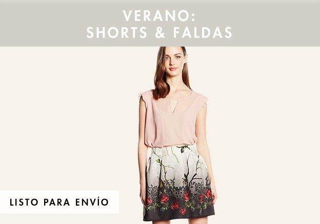 Verano: shorts & faldas