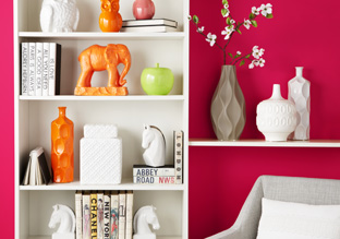 Dress Up a Shelf: Bookends & Accents