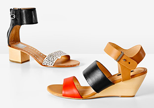 Walk in the City: Sandals