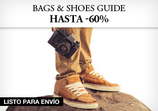 Bags & shoes guide: hasta -60%