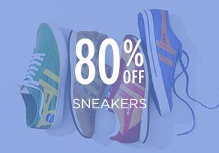 80% Off: Sneakers!