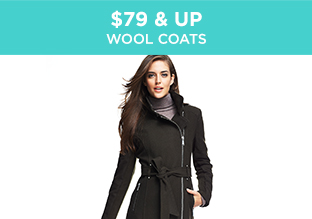 $79 & Up: Wool Coats