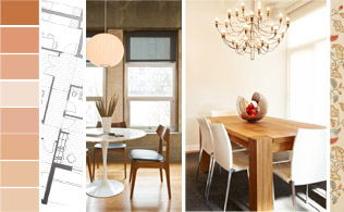 Starter Home: The Dining Room!