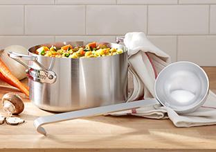 The Sleek Kitchen: Stainless Steel!