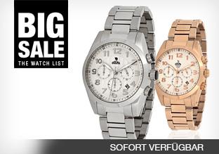 Big Sale: The Watch List