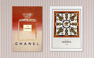 ARCHIVE: CHANEL & Hermès Advertisements