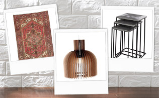 Accessorize Your Home: Rugs, Lighting & Furnishings!
