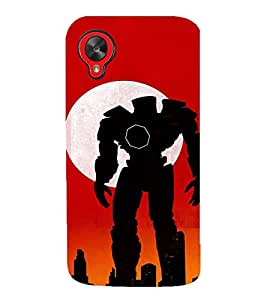 Fuson 3D Designer Back Case Cover For LG Nexus 5