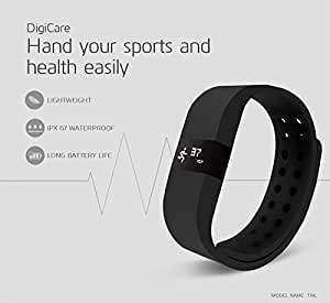 Link Plus Go Fit Pro 3D Fitness Band - Black For Apple Iphone 4