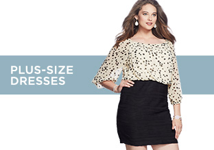 Up to 80% Off: Plus-Size Dresses!