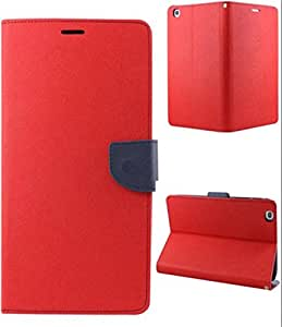 Mercury Flip Cover for SONY XPERIA T3 Red