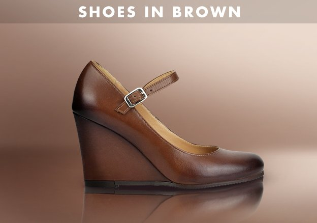 Shoes in Brown
