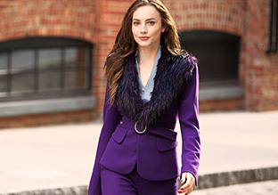Fall Trend to Try: Blue, Indigo, Violet