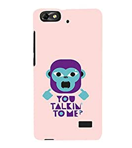 EPICCASE Money Talking Mobile Back Case Cover For Huawei Honor 4C (Designer Case)