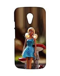 Mobifry Back case cover for Motorola Moto G 2nd generation Mobile ( Printed design)