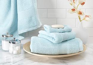 Perfectly Plush: Bath Towels & More