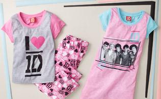 Girls' Sleepwear: Disney, Hello Kitty & More
