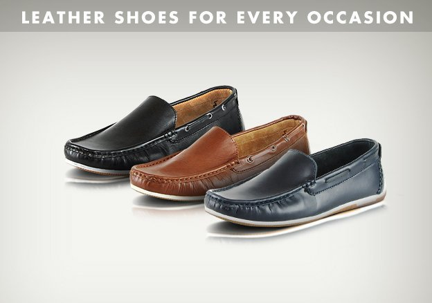 Leather shoes for every occasion