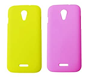 2 Pieces Winsome Deal Exclusive Hard Back Cover Case for Micromax Canvas 2.2 A114