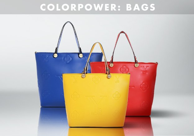 Colorpower: Bags