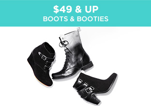 $49 & Up: Boots & Booties
