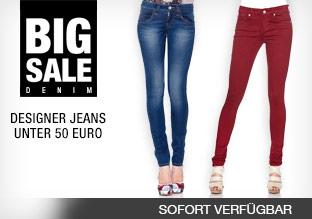Big Sale: Designer Jeans unter 50 Euro