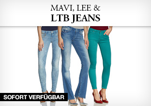 Mavi, Lee, LTB Jeans