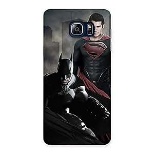 Premium knight Vs day Ready Multicolor Print Back Case Cover for Galaxy Note 5