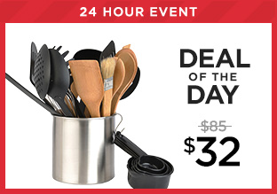 Deal of the Day: BergHOFF Tub of Tools at $32!