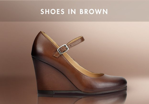 Shoes in Brown!