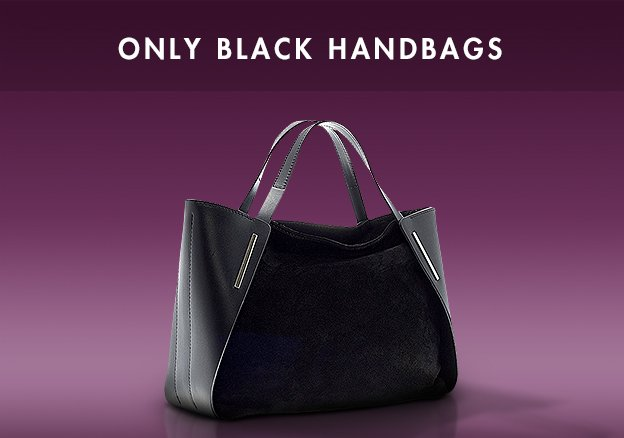 Only Black Handbags!