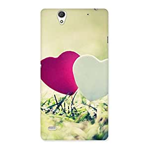 Special Couple Heart Back Case Cover for Sony Xperia C4