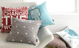 Futon Fix-Up: Casual Pillows