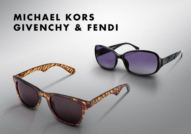 Givenchy, Michael Kors & Fendi